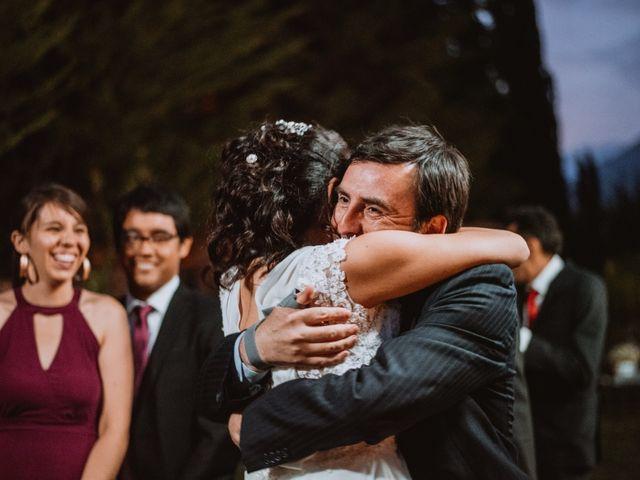 El matrimonio de Cristian y Karla en San José de Maipo, Cordillera 123
