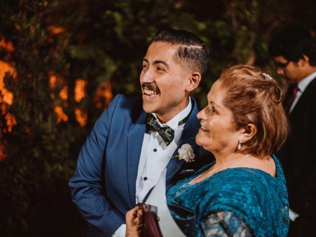 El matrimonio de Cristian y Karla en San José de Maipo, Cordillera 124