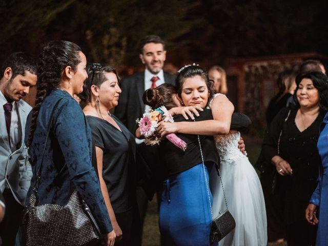 El matrimonio de Cristian y Karla en San José de Maipo, Cordillera 126
