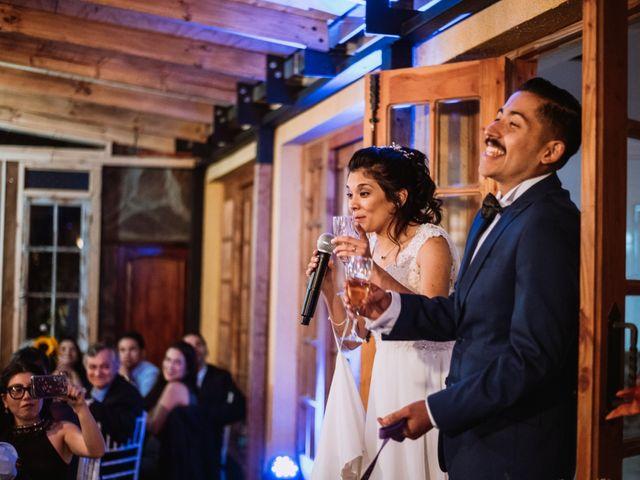 El matrimonio de Cristian y Karla en San José de Maipo, Cordillera 143