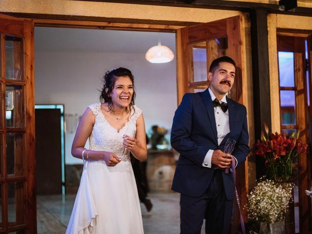 El matrimonio de Cristian y Karla en San José de Maipo, Cordillera 149