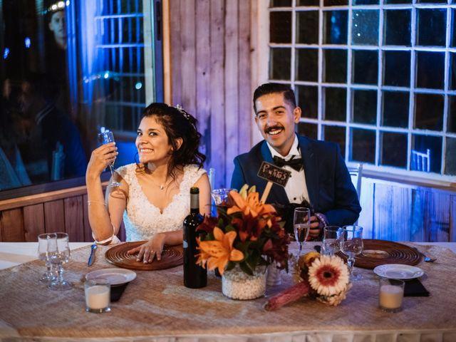 El matrimonio de Cristian y Karla en San José de Maipo, Cordillera 155