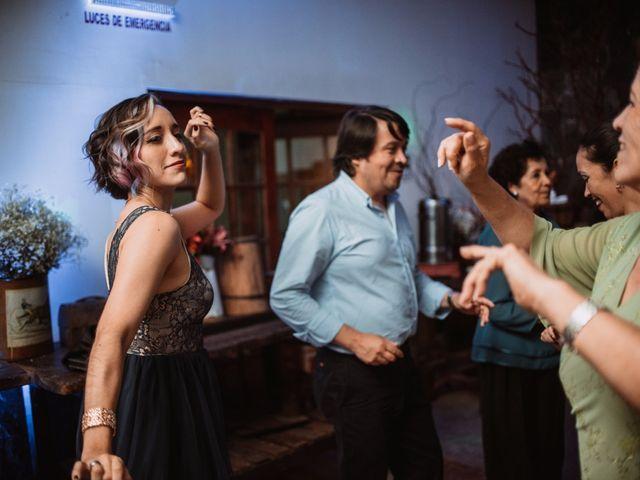 El matrimonio de Cristian y Karla en San José de Maipo, Cordillera 171