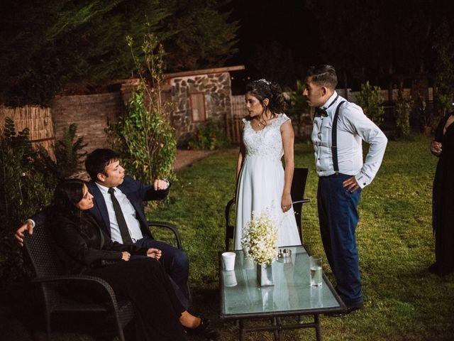 El matrimonio de Cristian y Karla en San José de Maipo, Cordillera 176