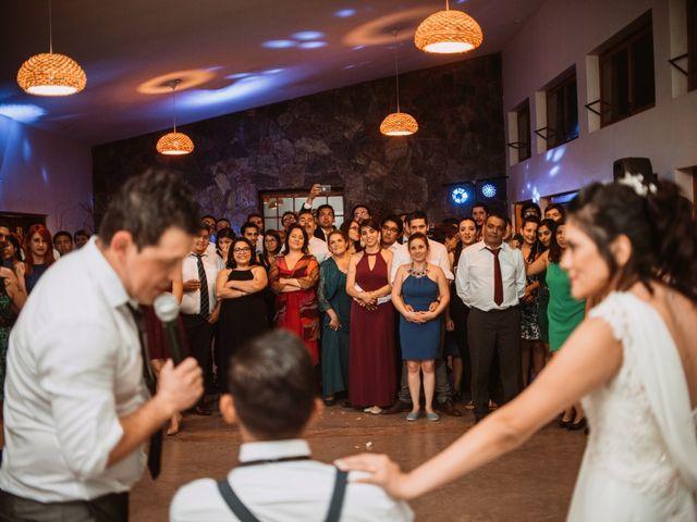 El matrimonio de Cristian y Karla en San José de Maipo, Cordillera 193