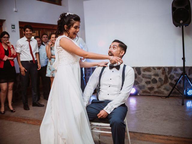 El matrimonio de Cristian y Karla en San José de Maipo, Cordillera 194