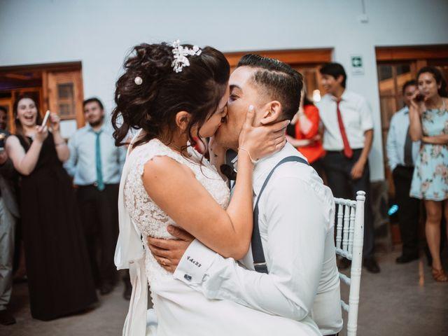 El matrimonio de Cristian y Karla en San José de Maipo, Cordillera 195