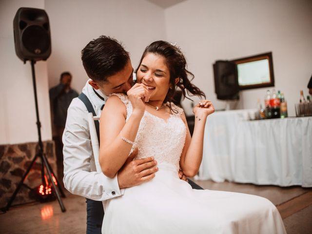 El matrimonio de Cristian y Karla en San José de Maipo, Cordillera 200