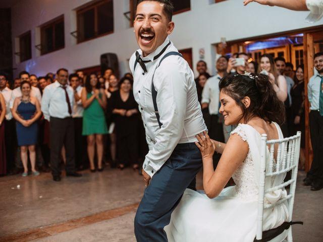 El matrimonio de Cristian y Karla en San José de Maipo, Cordillera 201