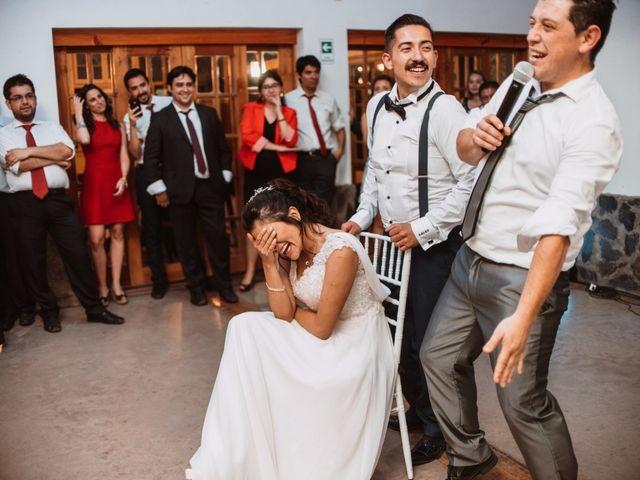 El matrimonio de Cristian y Karla en San José de Maipo, Cordillera 202