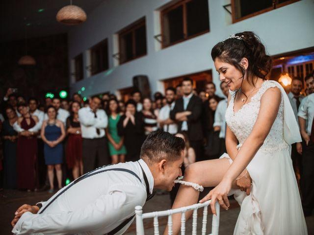 El matrimonio de Cristian y Karla en San José de Maipo, Cordillera 205