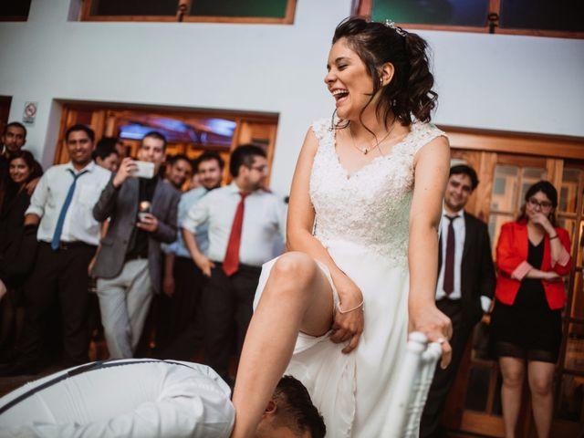 El matrimonio de Cristian y Karla en San José de Maipo, Cordillera 206
