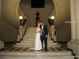 El matrimonio de Isabel y Maximiliano