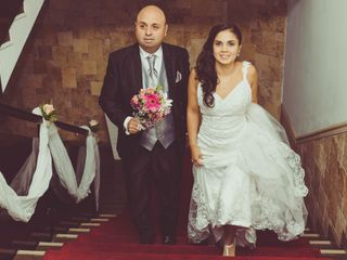 El matrimonio de Milari y Manuel
