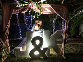 El matrimonio de Keyla y Jonathan