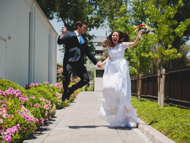 El matrimonio de Jassay y Esteban