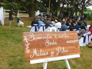 El matrimonio de Pilar  y Matías  3