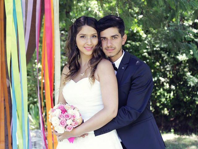 El matrimonio de Branco y Camila