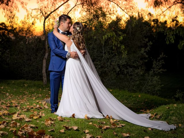 El matrimonio de Mackarena y Javier