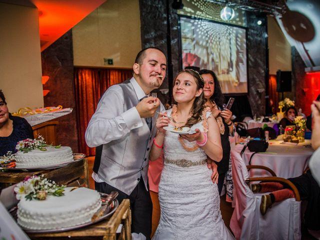 El matrimonio de Jocelyn y Erick