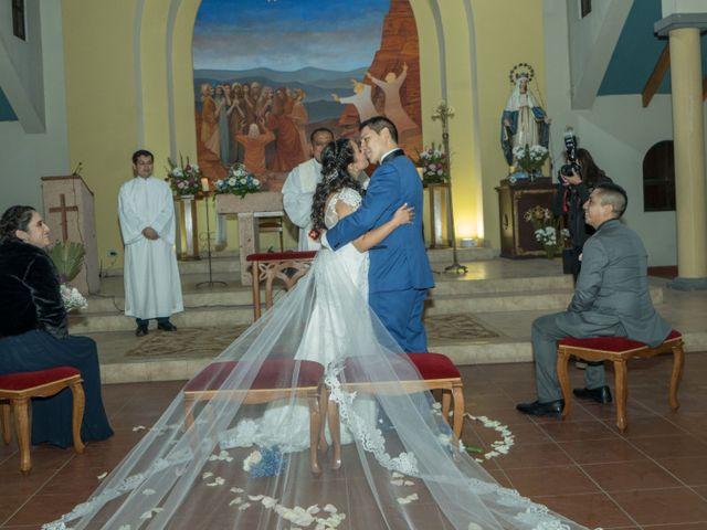 El matrimonio de Fernanda y Cristian