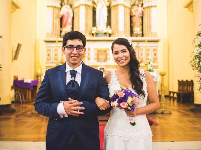 El matrimonio de Franciesca y Víctor