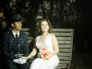 El matrimonio de Gisel y Óscar