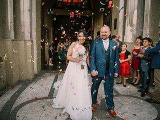 El matrimonio de Cristina  y Yuri