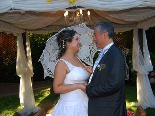 El matrimonio de Patricio y Marjorie