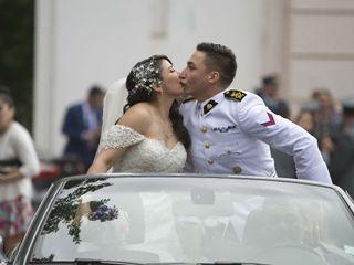 El matrimonio de Macarena y Carlos