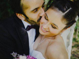 El matrimonio de Bárbara y Luis