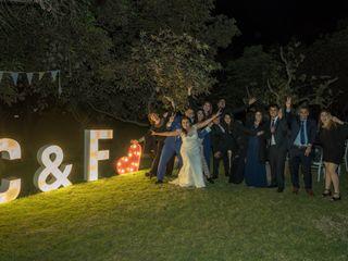 El matrimonio de Cristian  y Fernanda  3