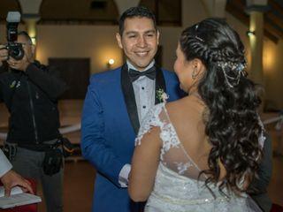 El matrimonio de Cristian  y Fernanda