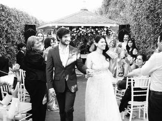 El matrimonio de Daffne y Álvaro