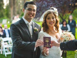El matrimonio de Nataly y Alex