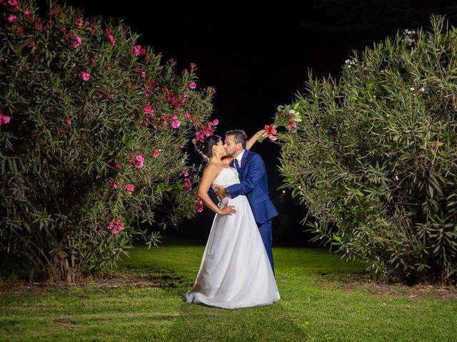El matrimonio de Carolina y César