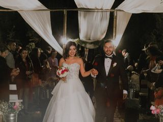 El matrimonio de Vanessa y Mario