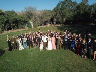El matrimonio de Claudio y Mitzi 1