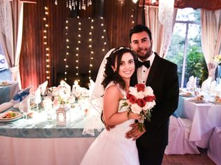 El matrimonio de Elizabeth y Maximo