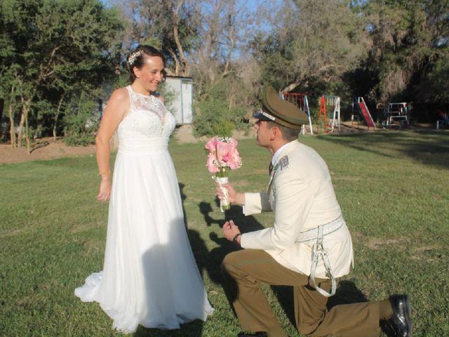 El matrimonio de Claudio y Mitzi