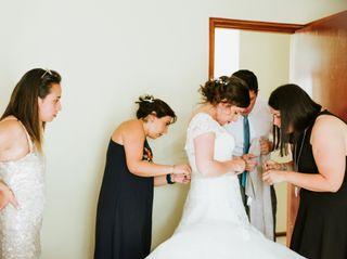 El matrimonio de Camila y Benjamín 2