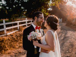 El matrimonio de María Constanza y Pablo
