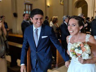 El matrimonio de María Paz y Sebastián