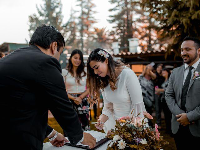 El matrimonio de Diego y Paula
