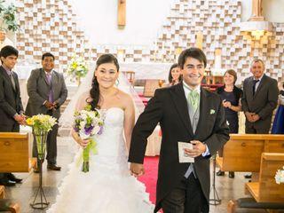 El matrimonio de Evelin y Gary