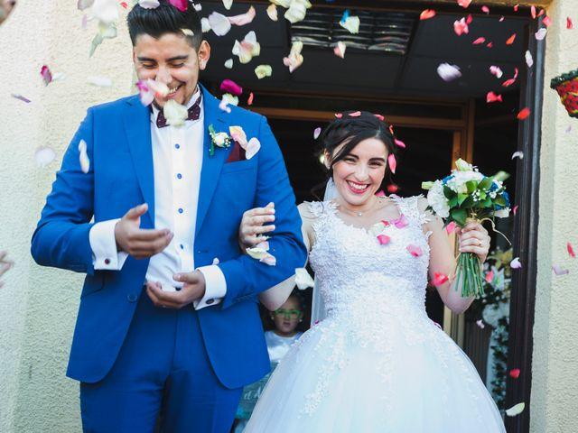 El matrimonio de Melani  y César