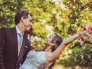El matrimonio de Nicole y José