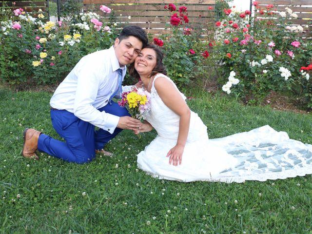El matrimonio de Sandra y David