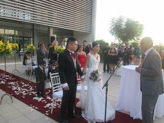 El matrimonio de Claudio y Macarena 1