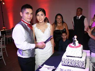 El matrimonio de Claudio y Macarena